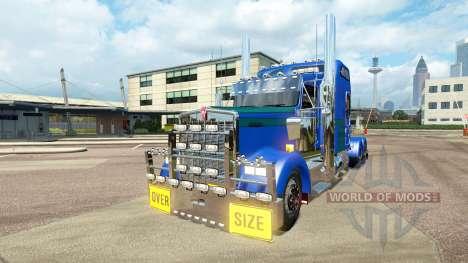 Kenworth W900L [customs] für Euro Truck Simulator 2