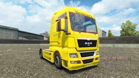 Waberers de la peau pour l'HOMME camions pour Euro Truck Simulator 2