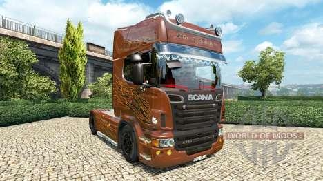 Scania R Black Amber v2.5 pour Euro Truck Simulator 2