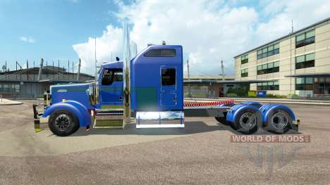 Kenworth W900L [customs] pour Euro Truck Simulator 2