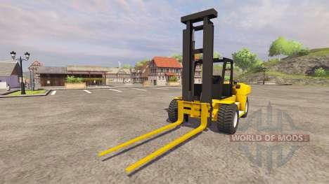 Komatsu EX50 pour Farming Simulator 2013