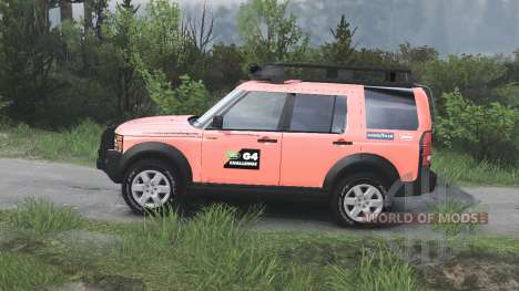 Land Rover Discovery 3 G4 [08.11.15] pour Spin Tires