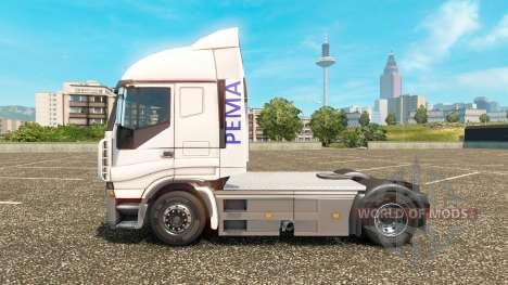 Pema peau pour Iveco camion pour Euro Truck Simulator 2