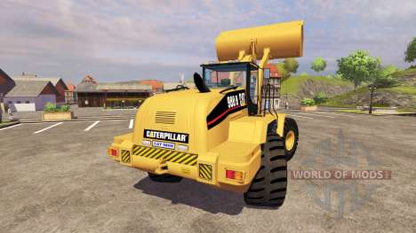 Caterpillar 980H v2.0 pour Farming Simulator 2013