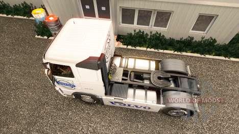 La peau de Volvo Trucks Volvo trucks pour Euro Truck Simulator 2