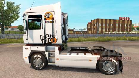 Mezzo Mix Haut auf Traktor Renualt für Euro Truck Simulator 2