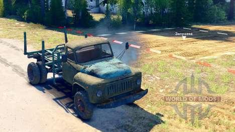 GAZ-52 auf dem chassis GAZ-63 [13.04.15] für Spin Tires
