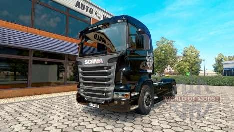 Haudegen-skin für den Scania truck für Euro Truck Simulator 2