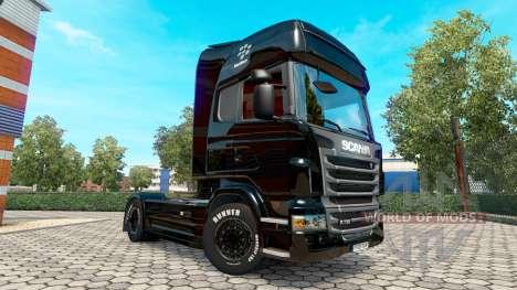 BlackBerry skin für Scania LKW für Euro Truck Simulator 2