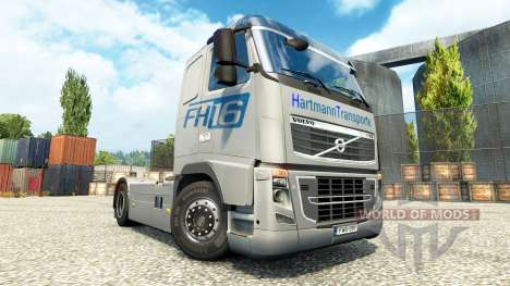 Hartmann Transporte de la peau pour Volvo camion pour Euro Truck Simulator 2