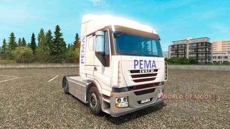 Pema Haut für Iveco LKW für Euro Truck Simulator 2