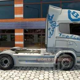 Hartmann Transporte skin für Scania LKW für Euro Truck Simulator 2