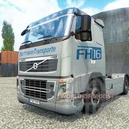 Hartmann Transporte Haut für Volvo LKW für Euro Truck Simulator 2