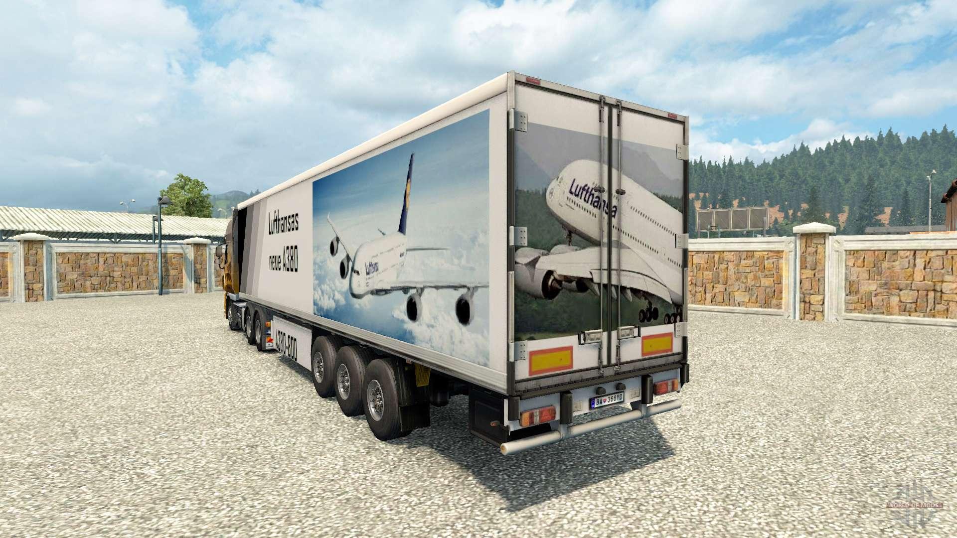 Skins du carburant semi-remorque pour Euro Truck Simulator 2