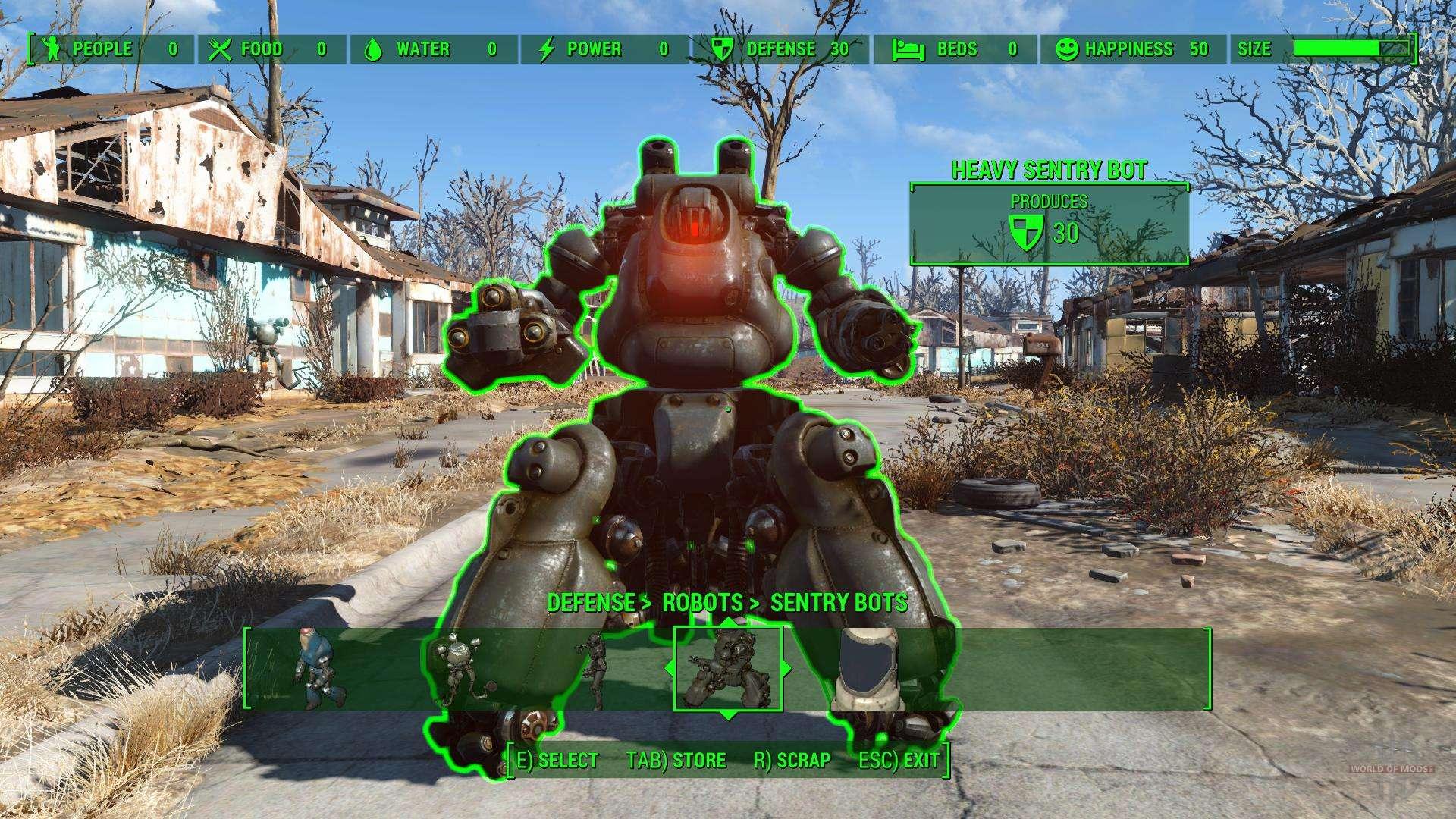 Fallout  Ville Carte