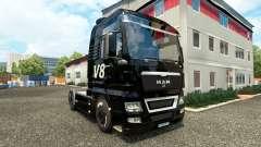 V8 de la peau pour l'HOMME camions