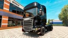 BlackBerry skin für Scania LKW