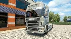Hartmann Transporte de la peau pour Scania camio