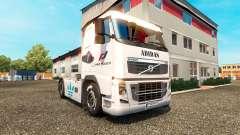 Haut Adidas für Volvo LKW