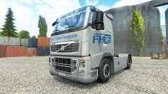 Hartmann Transporte de la peau pour Volvo camion