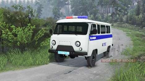UAZ-3909 PPP [25.12.15] für Spin Tires