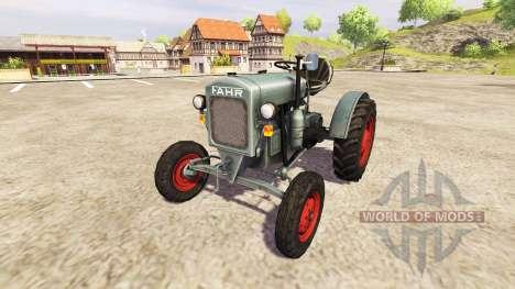 Fahr F22 v0.9 pour Farming Simulator 2013