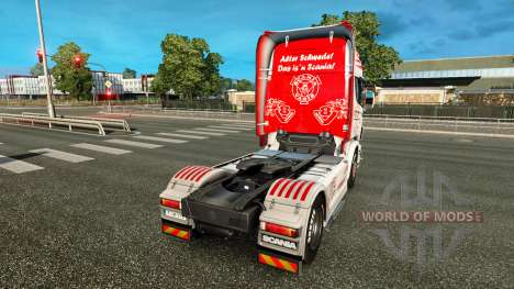 Vabis de la peau pour Scania camion pour Euro Truck Simulator 2