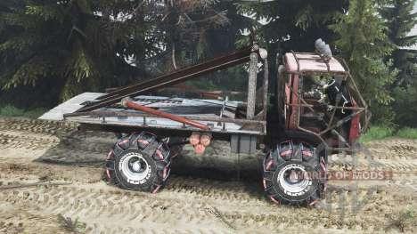 KamAZ Mongo [25.12.15] pour Spin Tires