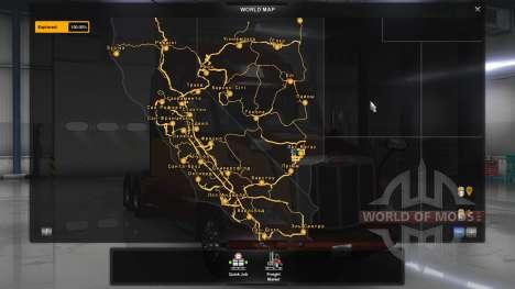 Die ukrainischen Namen von Städten für American Truck Simulator