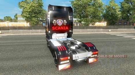 Skin für Scania LKW-Scania für Euro Truck Simulator 2