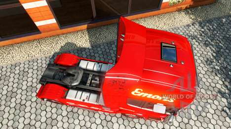 Emons skin für Scania-LKW für Euro Truck Simulator 2