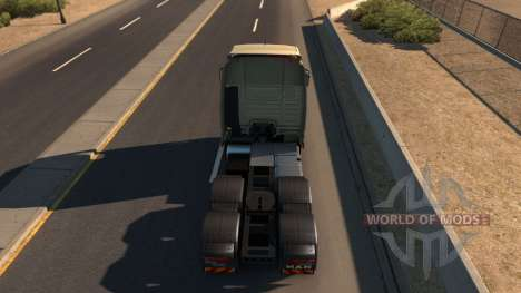 MAN TGX für American Truck Simulator
