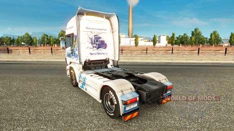 Bayern Express skin für Scania-LKW für Euro Truck Simulator 2