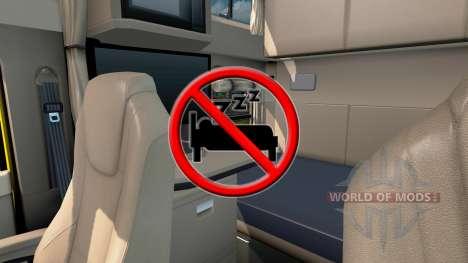 Désactiver le sommeil pour American Truck Simulator