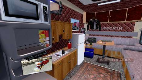 Kenworth W900B Long ARI Legacy Sleepers pour American Truck Simulator