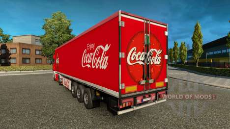 Haut Coca-Cola truck Scania für Euro Truck Simulator 2