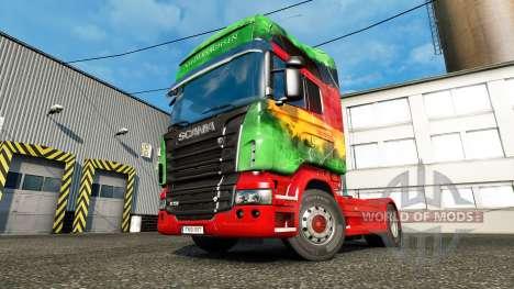 Die Haut der Unteren auf die Sattelzugmaschine S für Euro Truck Simulator 2