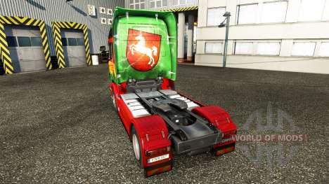 La peau Inférieure sur le tracteur Scania pour Euro Truck Simulator 2