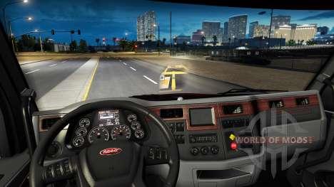Das Hologramm der minimap für American Truck Simulator