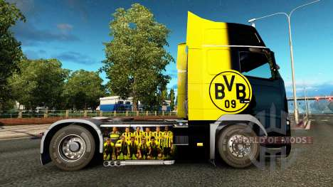 BvB de la peau pour Volvo camion pour Euro Truck Simulator 2