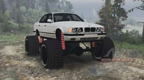 BMW M5 (E34) [bigfoot] v1.2 [16.12.15] für Spin Tires