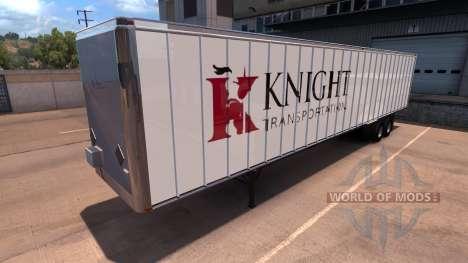 Knight Trailer für American Truck Simulator