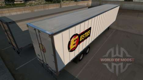 Estes Trailer pour American Truck Simulator