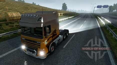 Nebelschlussleuchten für Euro Truck Simulator 2