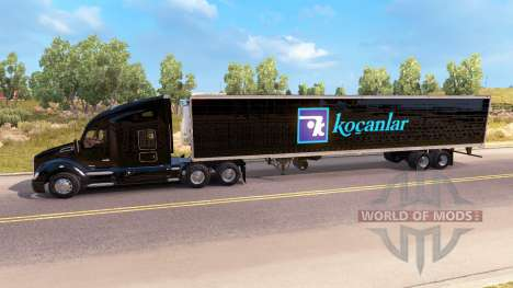 La peau d'un tracteur Kenworth sur le COB pour American Truck Simulator
