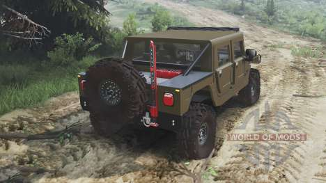 Hummer H1 [16.12.15] pour Spin Tires
