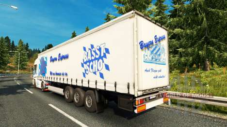 La bavière Express de la peau pour Scania camion pour Euro Truck Simulator 2