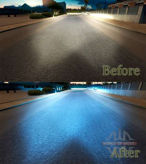 La lumière bleue pour American Truck Simulator