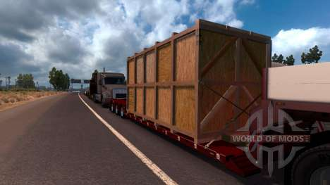 Doll Vario 3 Axle Trailer pour American Truck Simulator