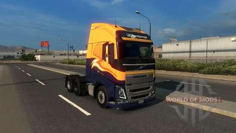 Volvo FH16 2012 pour American Truck Simulator